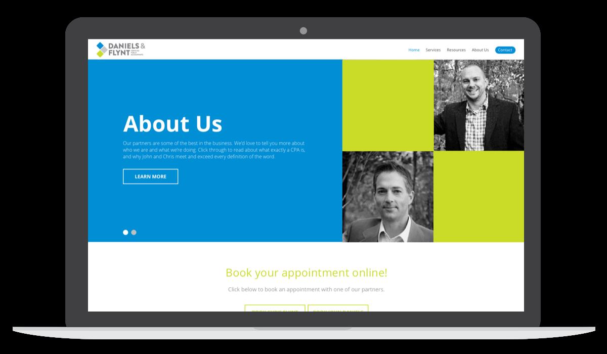 daniels & flynt blog website home