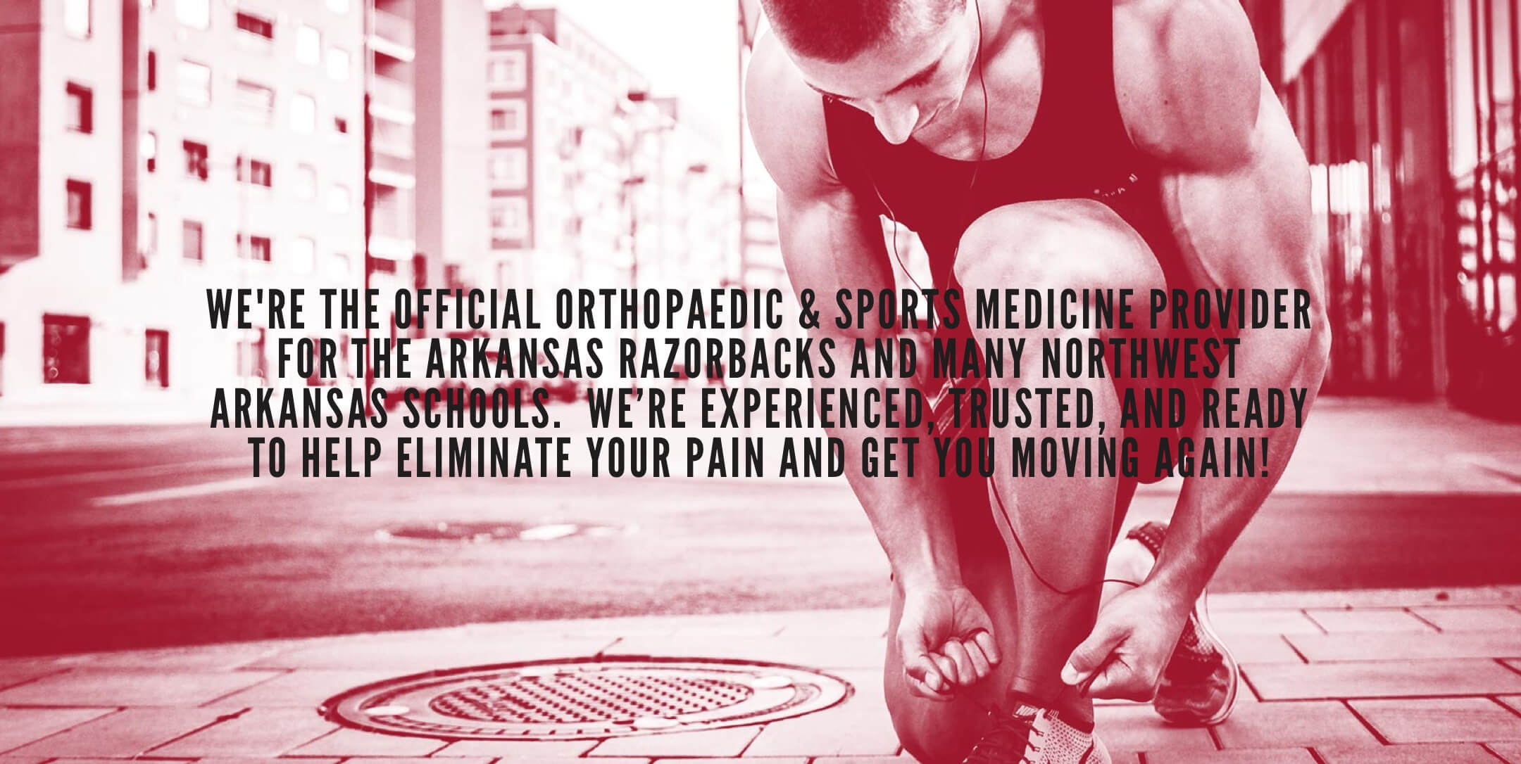 advanced orthopaedic specialists quote with photo background