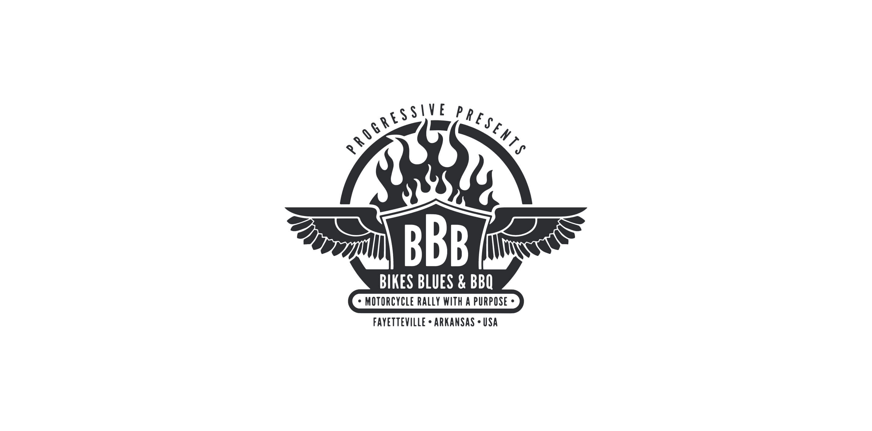 Updated Bikes Blues and BBQ Logo