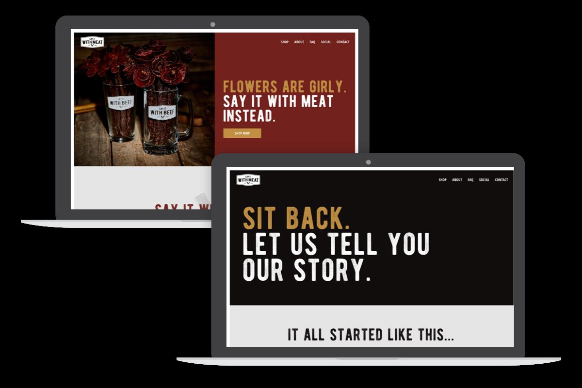 say it with beef desktop screens