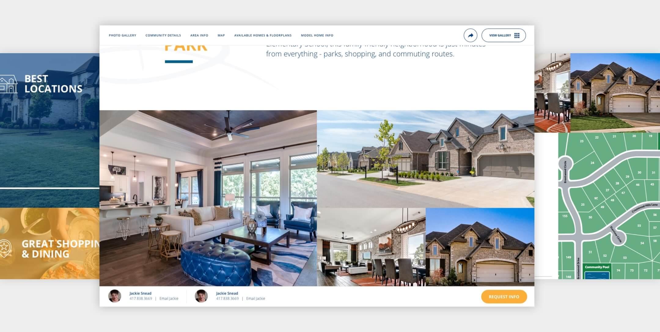buffington homes website designs