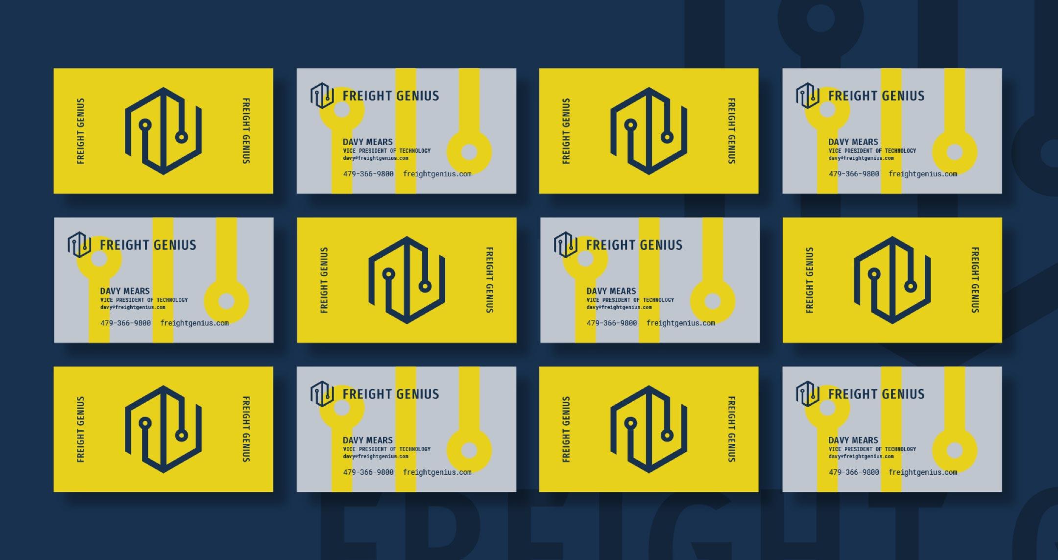 freight genius business cards