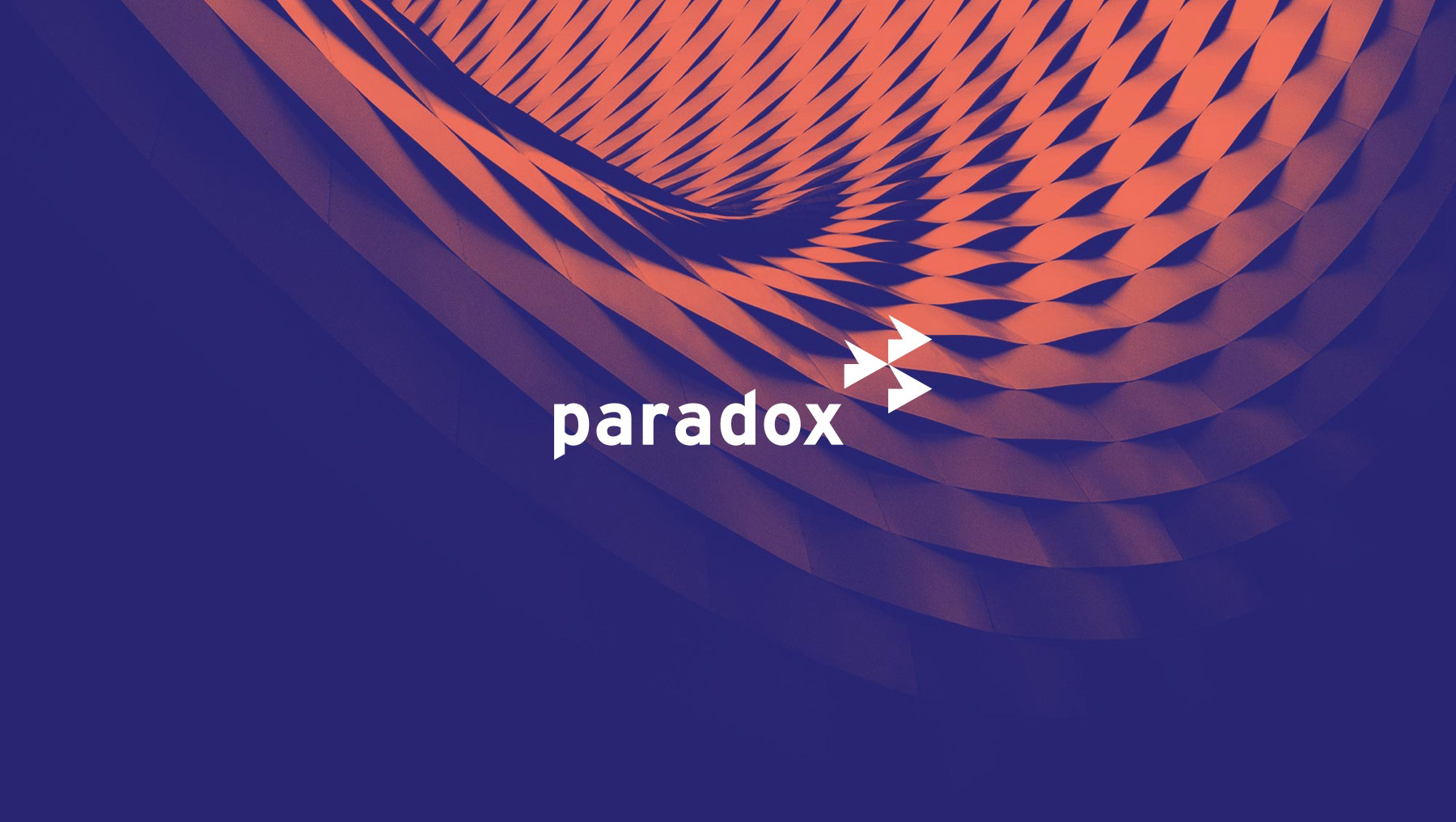 paradox retail logo with textured background
