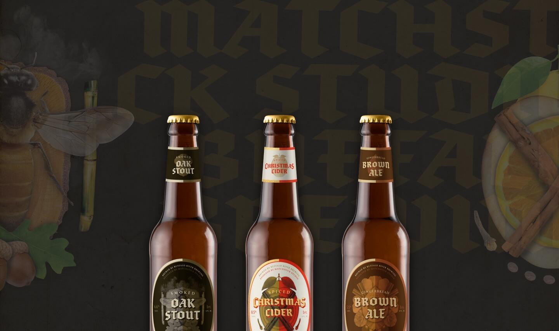 matchstick brews bottles