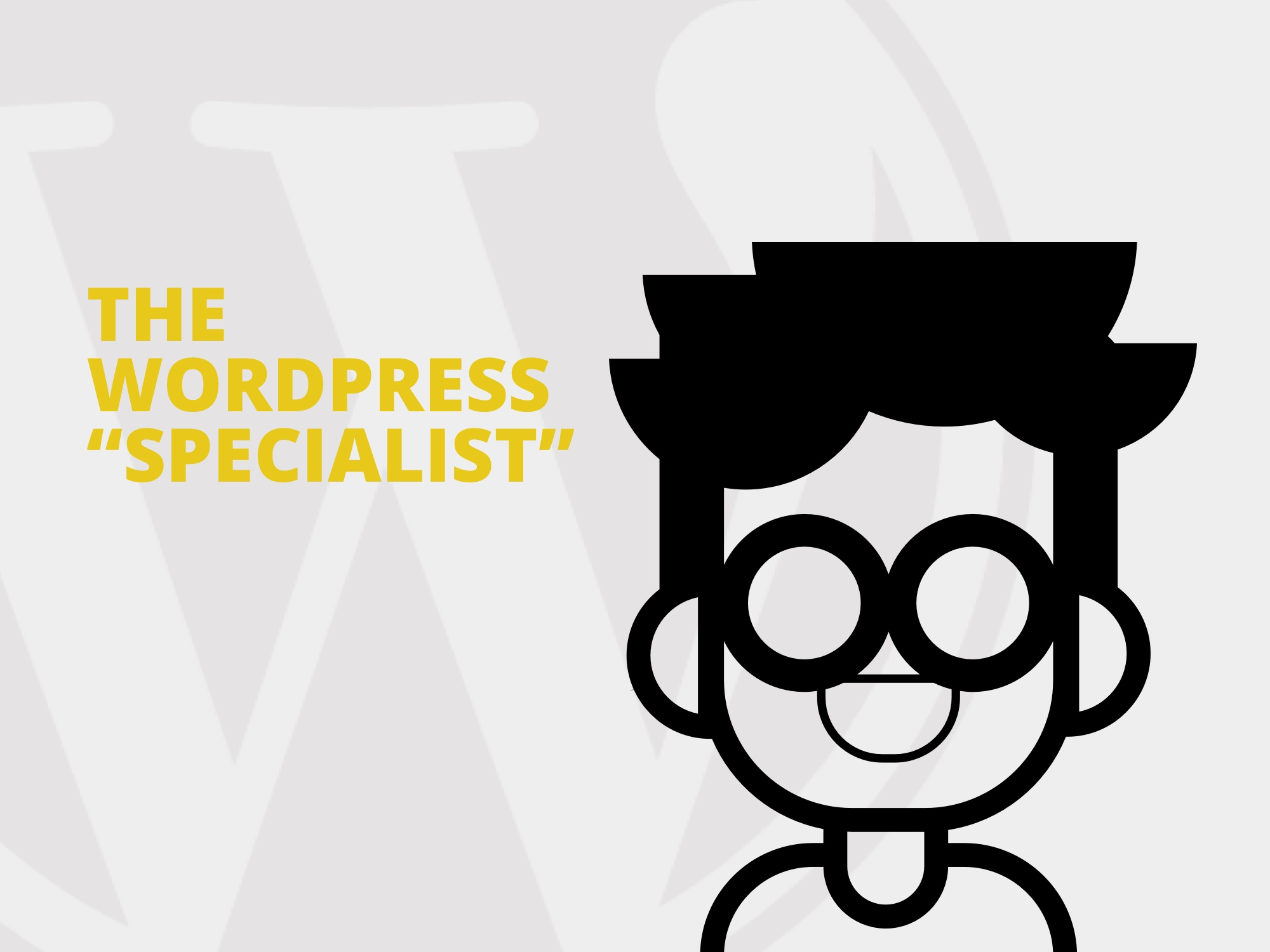 The Wordpress Specialist