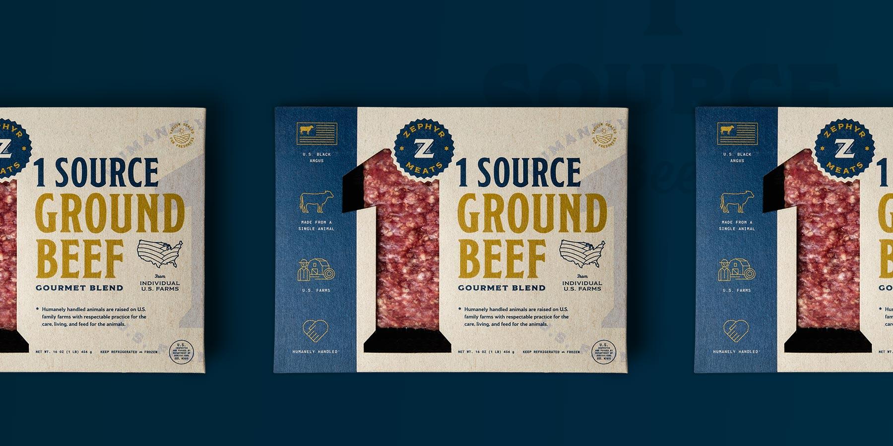 1 source ground beef box