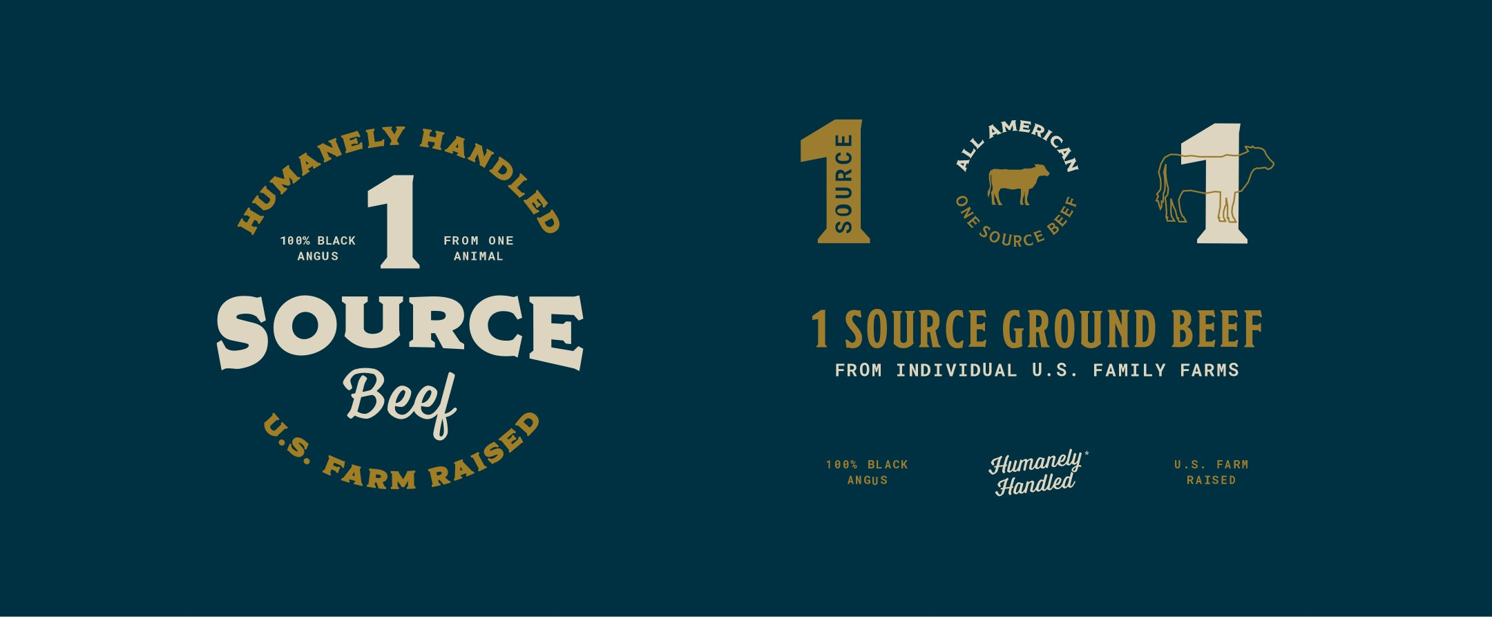 1 source ground beef logos and claims