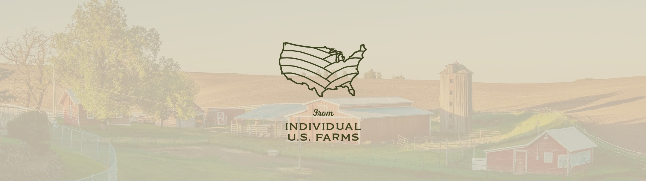 individual farms logo with background